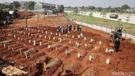 Melihat Lahan Baru Pemakaman Covid-19 di TPU Jombang Tangsel
