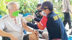 Polda Kalteng Gelar Vaksinasi Door to Door ke Pelosok Desa