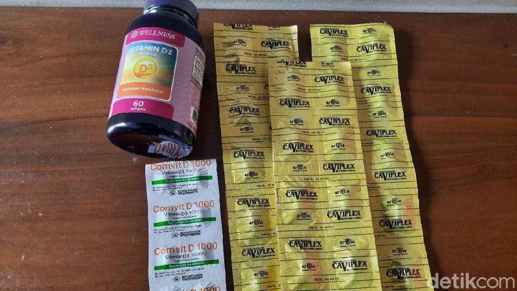 Vitamin di Surabaya Diburu, Obat Antivirus Wajib Resep Dokter