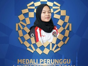 Raih Medali Pertama di Olimpiade 2020, Windy Cantika Klarifikasi Soal Hijab