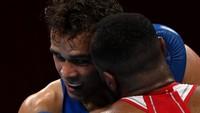 Petinju Maroko Mau Gigit Kuping Lawan di Olimpiade Tokyo 2020!