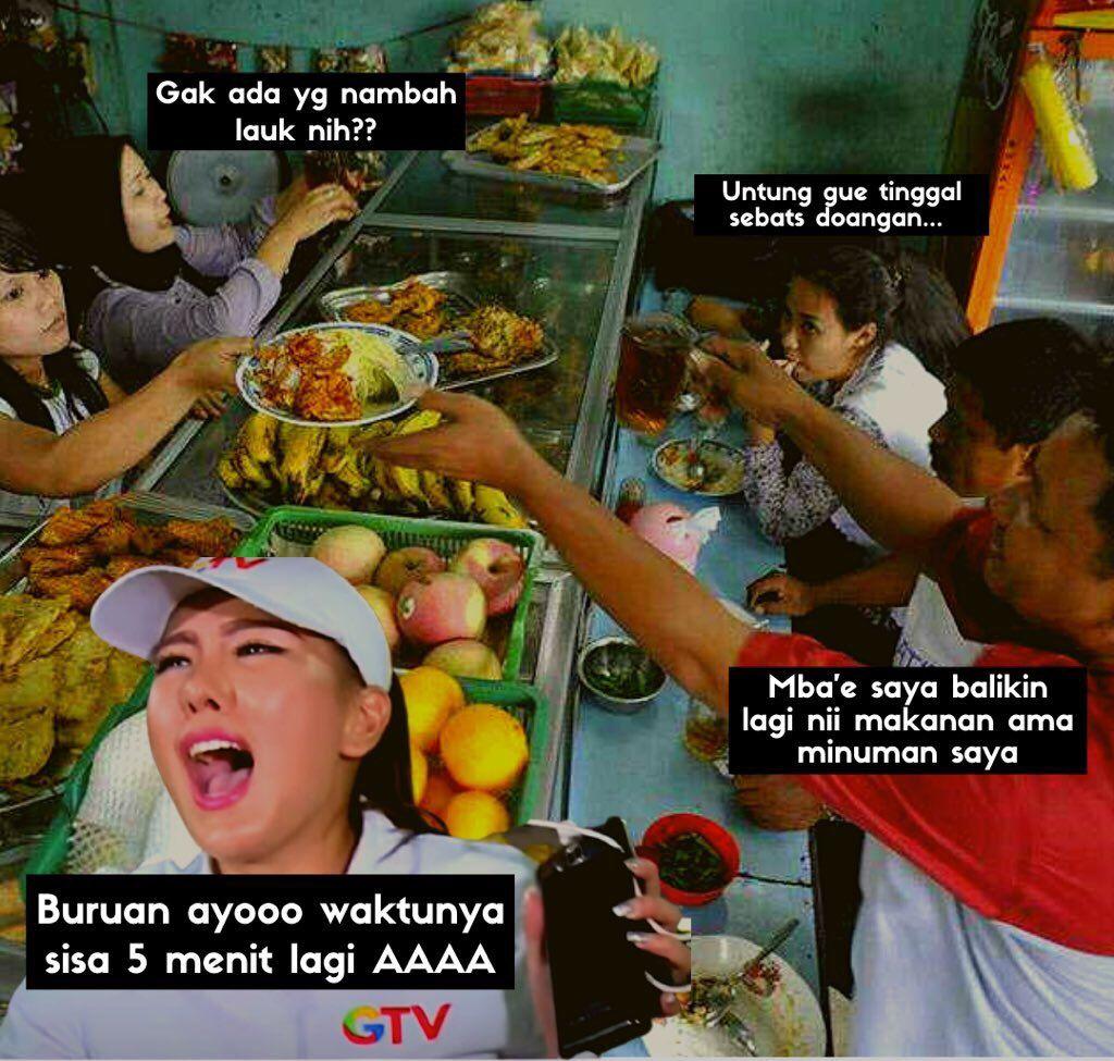 10 Meme Makan 20 Menit, Ada Anies Baswedan dan Piring Pakai 'Timer'!