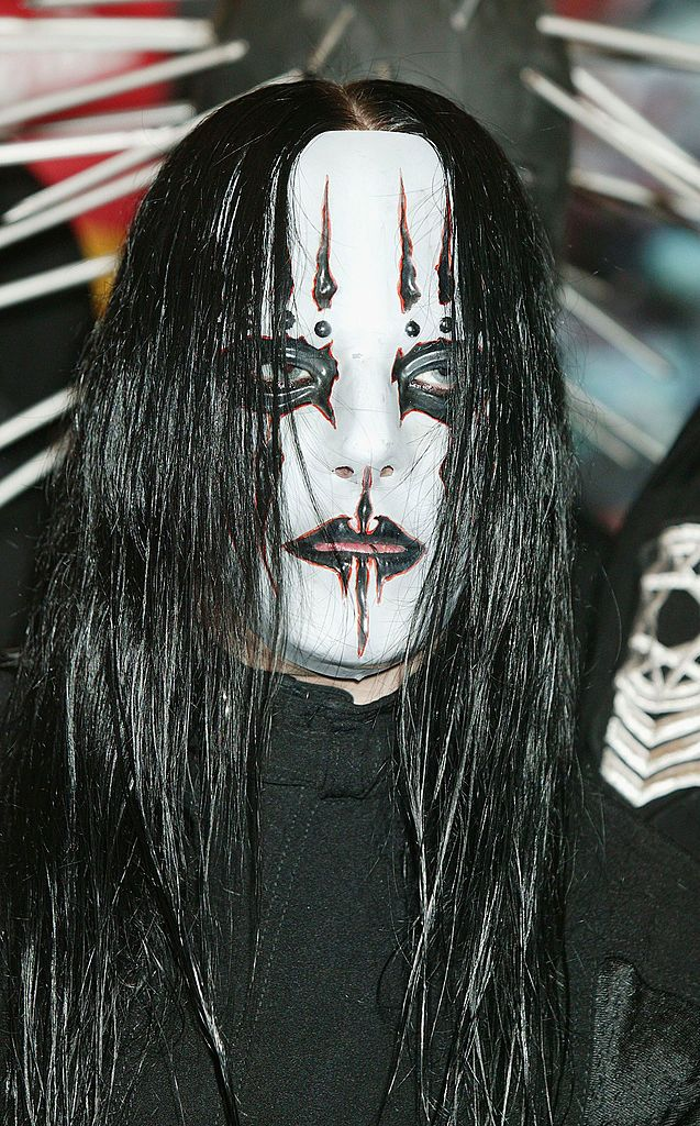 LONDON - MAY 23:  Joey Jordison of Slipknot signs copies of the new album