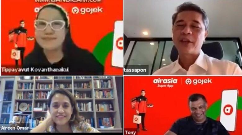 Meeting virtual AirAsia Thailand.
