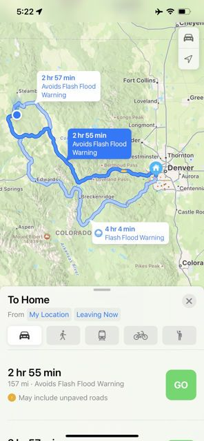 Apple Maps Fitur