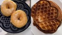 Chef William Gozali Bikin Waffle Unik, Pakai Donat dan Tahu Gejrot