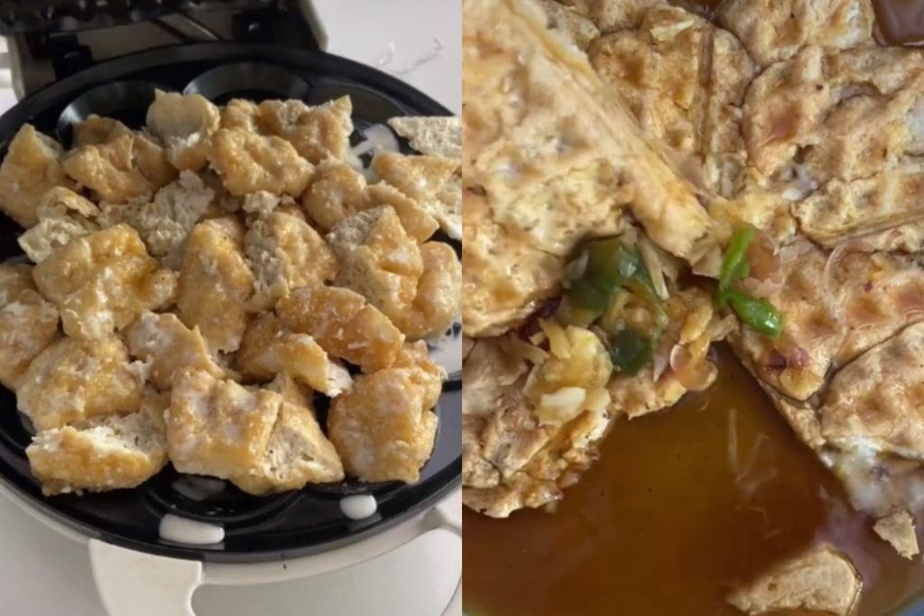 Chef William Gozali Bikin Waffle Unik