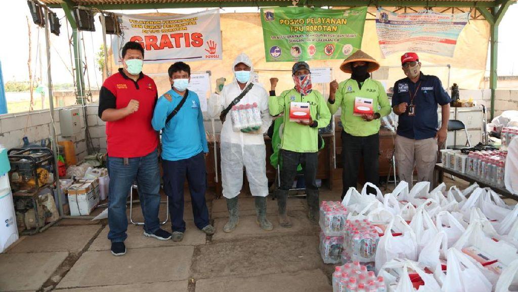 CT ARSA Foundation Bersama Kemensos Salurkan 80 Ribu Paket Makanan Bergizi