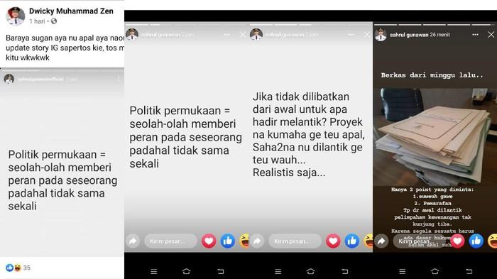 Curhatan Wabup Bandung Sahrul Gunawan.