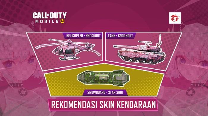 Deretan Skin Kendaraan Yang Wajib Kamu Miliki di Call of Duty: Mobile