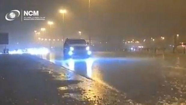 Hujan Buatan di Dubai