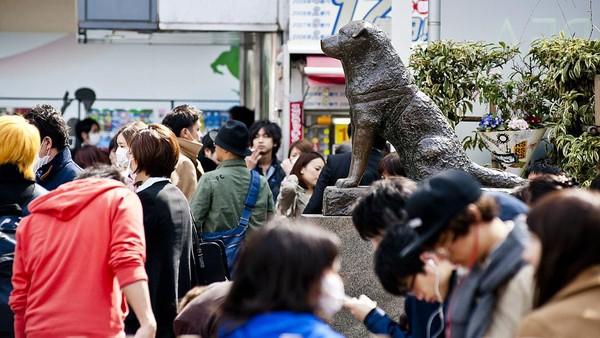Patung Hachiko jadi salah satu landmark yang tak boleh dilewatkan saat berkunjung ke Tokyo. Hachiko si anjing setia bisa kamu kunjungi patungnya tidak jauh dari penyeberangan terkenal di Tokyo, yaitu Shibuya. Cerita anjing setia yang menunggu pemiliknya yang telah meninggal menyentuh semua orang, hingga akhirnya dibuatkanlah patung Hachiko. Dia pun menjadi simbol loyalitas nasional lho. Keith Tsuji/Getty Images.