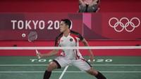 Hasil Bulutangkis Olimpiade: Jonatan Christie Mantap ke Fase Gugur