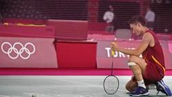 Olimpiade Tokyo 2020: Kento Momota Out!
