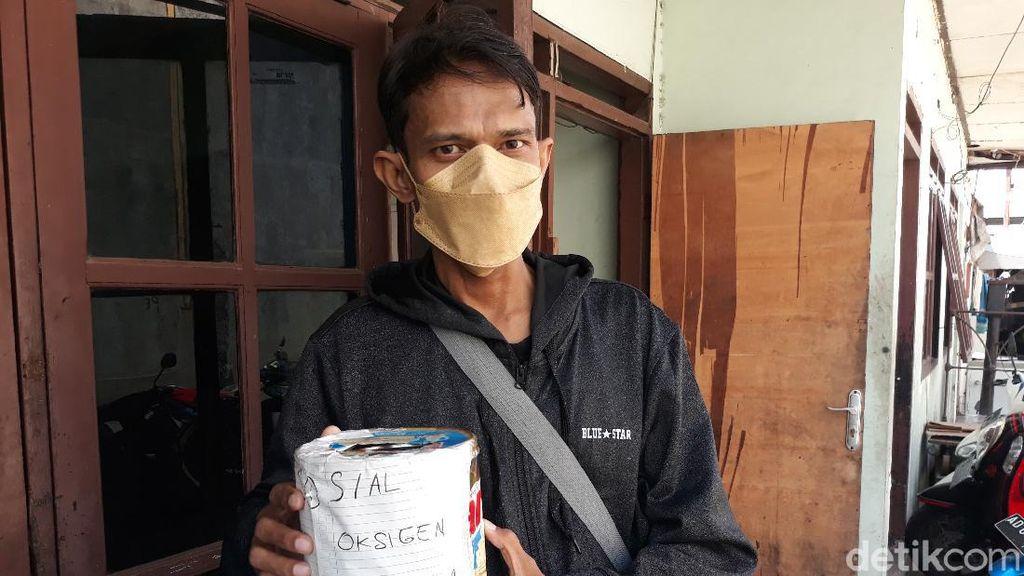 Salut! Komunitas di Sukoharjo Ini Layani Isi Oksigen Bayar Seikhlasnya