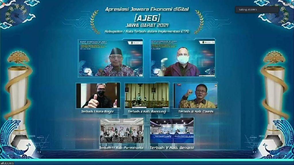 Kota Bogor Raih 3 Penghargaan Bidang Digitalisasi & Manajemen Inflasi