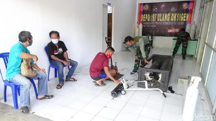 layanan oksigen gratis marinir surabaya