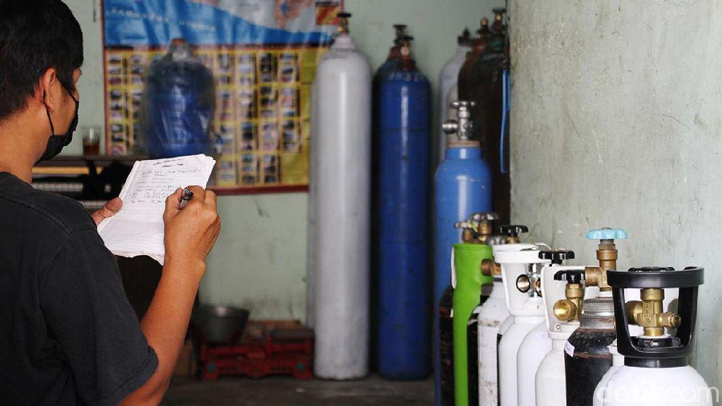Bengkel di Sukoharjo Ini Sediakan Isi Ulang Oksigen Bayar Seikhlasnya