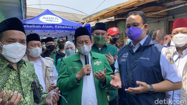 Pandam Jaya dan Anies kunjungi fasilitas isoman PWNU DKI