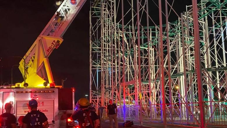 penyelamatan oleh West Valley Fire Department