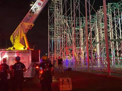 Detik-detik Evakuasi Rombongan Remaja Terjebak di Roller Coaster