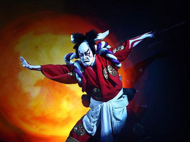 Potret Kabuki, Seni Teater Tradisional Jepang yang Jadi Pembuka Olimpiade