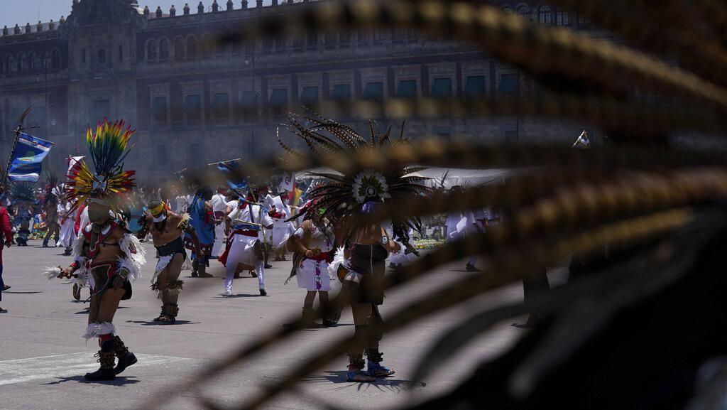 Potret Perayaan 696 Tahun Peradaban Aztec di Tengah Pandemi