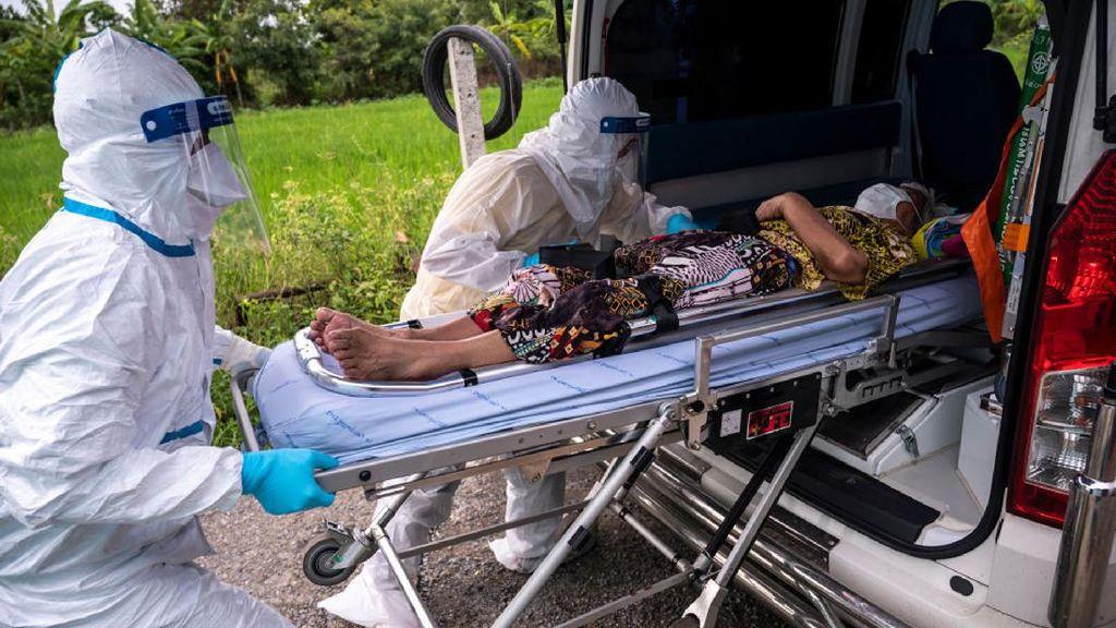 RS Kewalahan, Pasien Corona di Thailand Dipulangkan