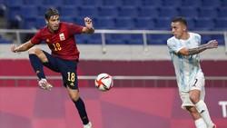 Hasil Sepakbola Olimpiade Tokyo 2020: Spanyol Lolos, Argentina Kandas