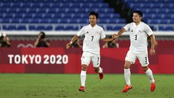 Hasil Sepakbola Olimpiade 2020: Jepang Bantai Prancis 4-0