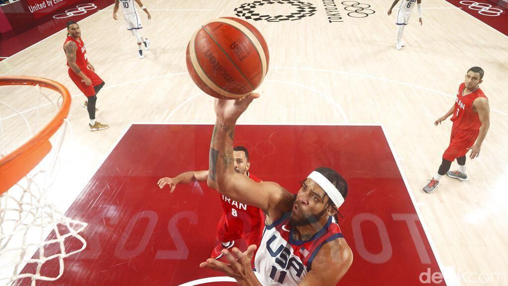 Kemenangan Perdana Tim Basket Putra AS di Olimpiade Tokyo