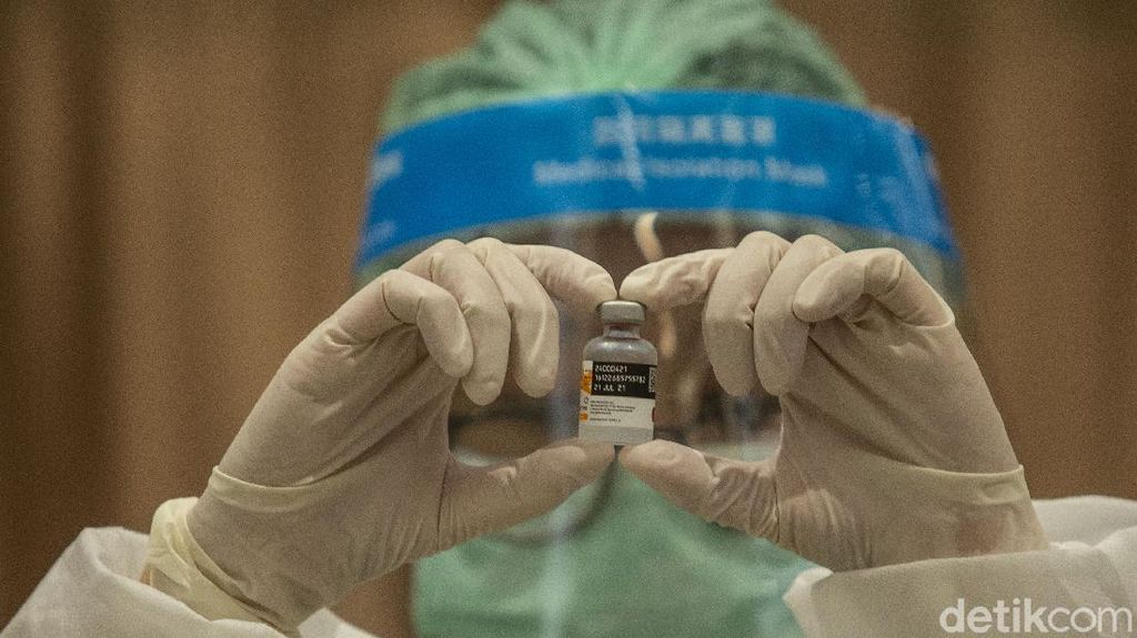Stok Vaksin RI Terus Bertambah, Ada 440 Juta Dosis hingga Akhir Tahun