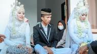 Ini 10 Potret Pernikahan Pria Viral di Lombok Nikahi 2 Wanita Sekaligus