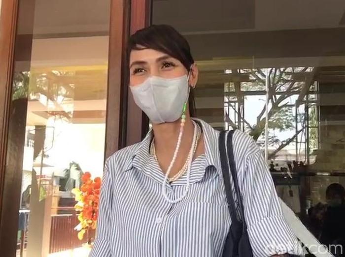 Wenny Ariani di Pengadilan Negeri Tangerang Rabu (28/7/2021).