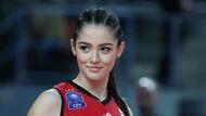 8 Foto Atlet Voli Turki Zehra Gunes, Cantiknya Menghinoptis di Olimpiade