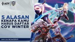 5 Alasan Harus Ikut Turnamen Clash of Valor (COV) Winter Arena of Valor
