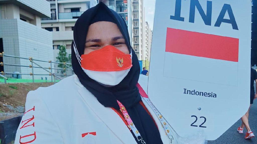 8 Potret Nurul Akmal, Atlet Angkat Besi Aceh Raih Peringkat 5 di Olimpiade