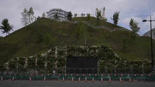 Pembangunannya memakan biaya sekitar USD 2,8 juta atau sekitar Rp 40 miliar. (Matt Dunham/AP)