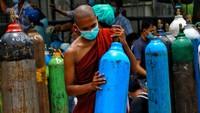PBB Prediksi Setengah Populasi Myanmar Bisa Terinfeksi COVID-19