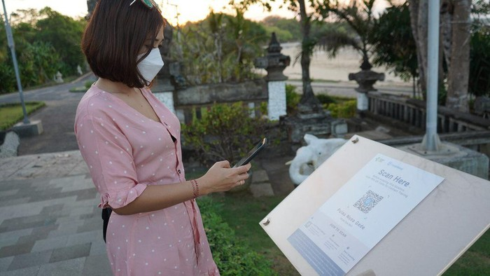 Digital Tracing Aplikasi PeduliLindungi di Bali