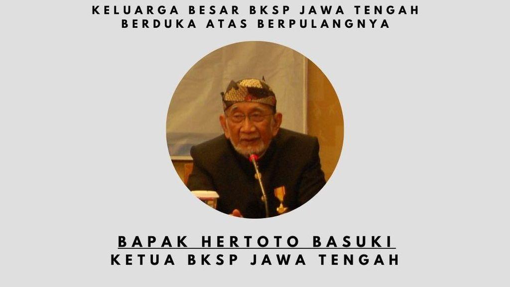Ketua BKSP Jateng Hertoto Basuki Meninggal Dunia, Dimakamkan Prokes