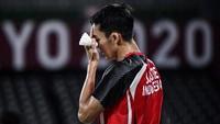 Gagal di Olimpiade Tokyo 2020, Jonatan Christie: Maaf, Indonesia