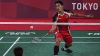 Hasil Bulutangkis Olimpiade Tokyo 2020: Jonatan Christie Tersingkir