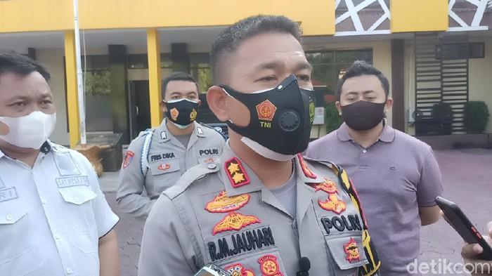 Kapolres Probolinggo Kota AKBP RM Jauhari