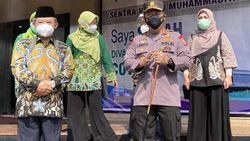 Gandeng Muhammadiyah, Kapolri: Sangat Membantu Percepat Vaksinasi