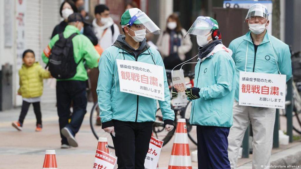 COVID-19 di Jepang Melonjak, Pemerintah Diminta Kirim Pesan Jelas ke Publik