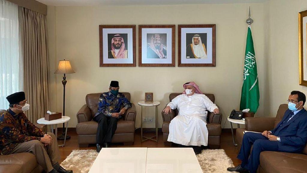 Temui Kedubes Saudi, Kemenag Bahas Teknis Pelaksanaan Umrah 1443 H