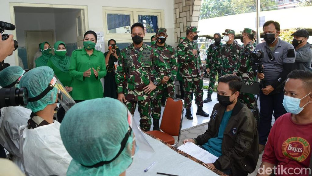 KSAD Ungkap Jurus Saling Bantu di RS TNI Saat Hadapi Pandemi COVID