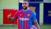 Video: Gol Cantik Memphis Depay untuk Barca