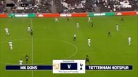 Video: Cuplikan Laga Pramusim MK Dons Vs Tottenham